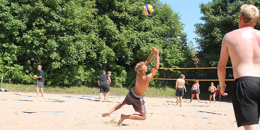 Beachvolley hos NIH